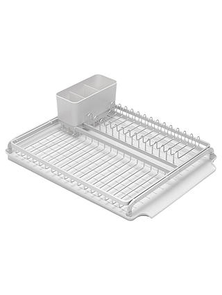 Buy Brabantia Dish Rack, Light Grey Online at johnlewis.com