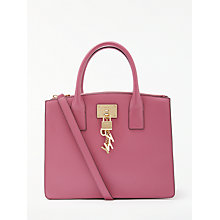 Buy DKNY Elissa Charm Detail Leather Tote Bag Online at johnlewis.com