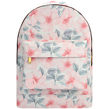 Buy Mi-Pac Midnight Garden Backpack, Pink Passion Online at johnlewis.com