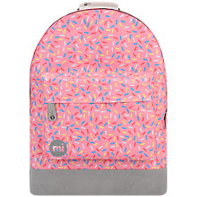 Buy Mi-Pac Sprinkles Backpack, Pink Blush Online at johnlewis.com