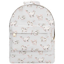 Buy Mi-Pac Cats Mini Backpack, Light Grey Online at johnlewis.com