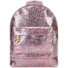 Buy Mi-Pac Mini Glitter Backpack, Pink Multi Online at johnlewis.com