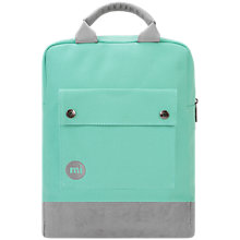 Buy Mi-Pac Canvas Tote Backpack, Mint Online at johnlewis.com