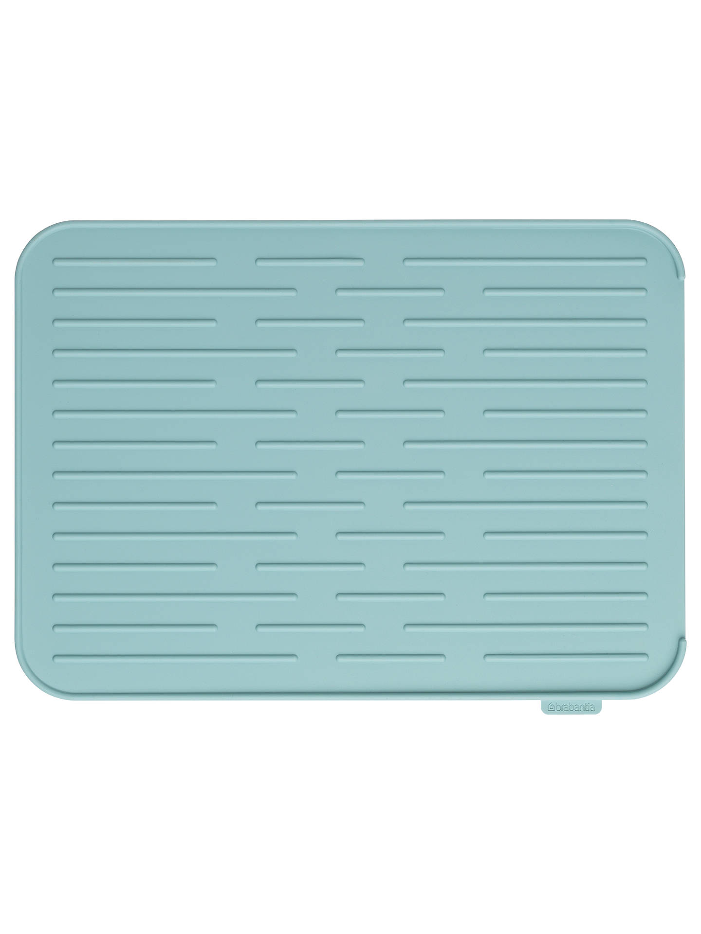 BuyBrabantia Silicone Dish Draining Mat, Mint Online at johnlewis.com