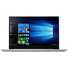 "Buy Lenovo IdeaPad 720S 81BD002YUK Laptop, Intel Core i5, 8GB, 256GB M.2 SSD, 14"", Silver Online at johnlewis.com"