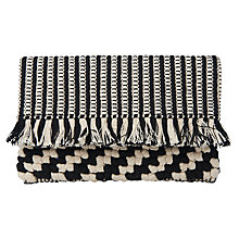 Buy Whistles Woven Fringe Clutch Online at johnlewis.com