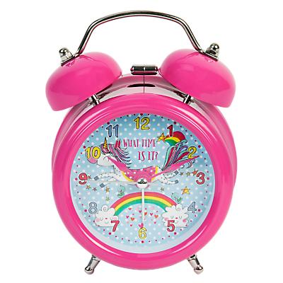 Rachel Ellen Unicorn Alarm Clock, Pink