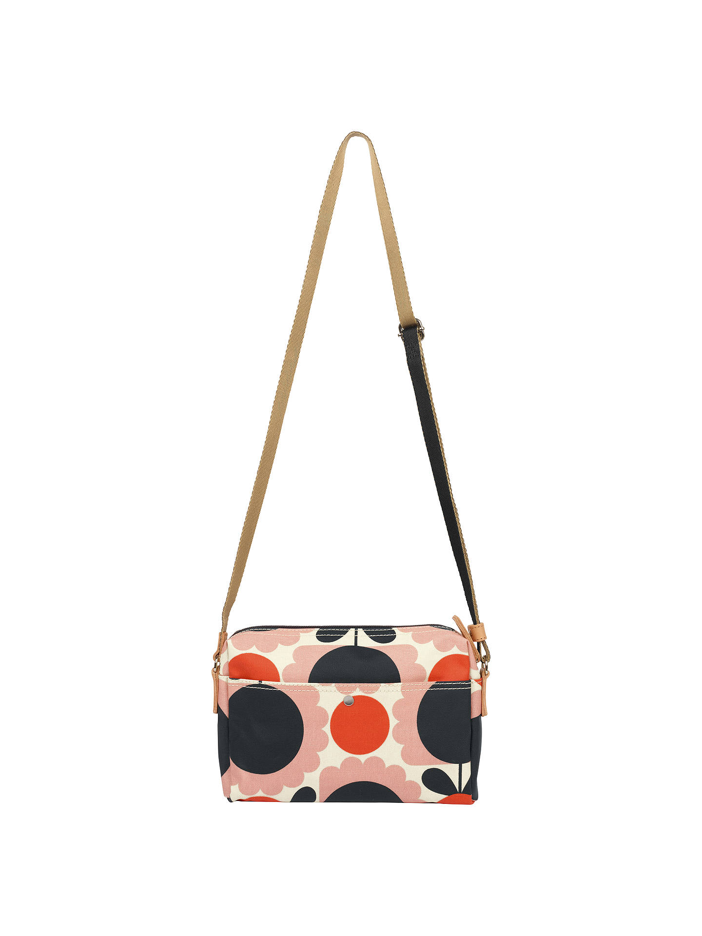 3df58c1c7d8 Buy Orla Kiely Scallop Flower Small Cross Body Bag, Pink/Multi Online at  johnlewis ...