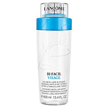 Buy Lancôme Bi-Facil Visage Makeup Remover & Cleanser, 400ml Online at johnlewis.com