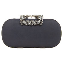 Buy Phase Eight Henni Jewel Trim Clutch Bag, Navy Online at johnlewis.com