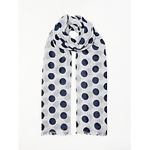 Buy Boden Spot Print Scarf Online at johnlewis.com