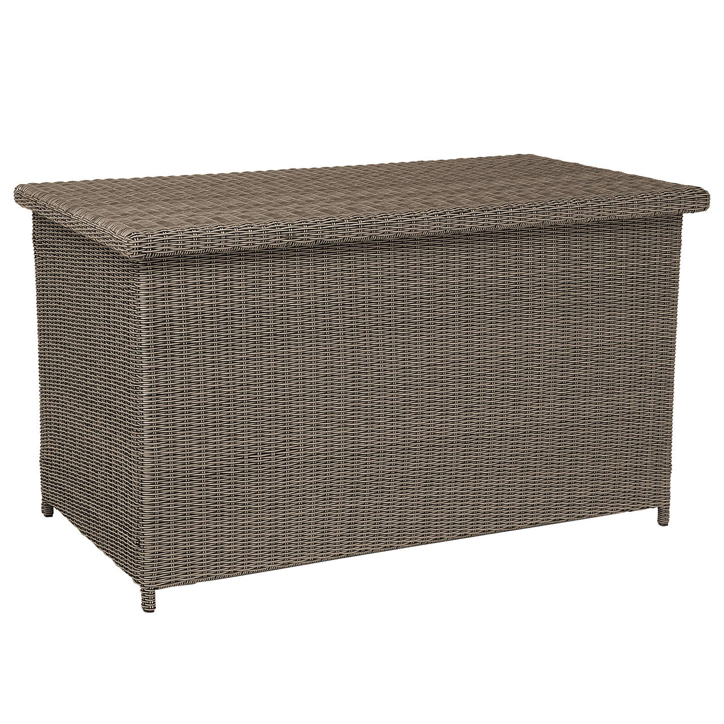 Kettler Palma Outdoor Cushion Storage Box Rattan Online At Johnlewis
