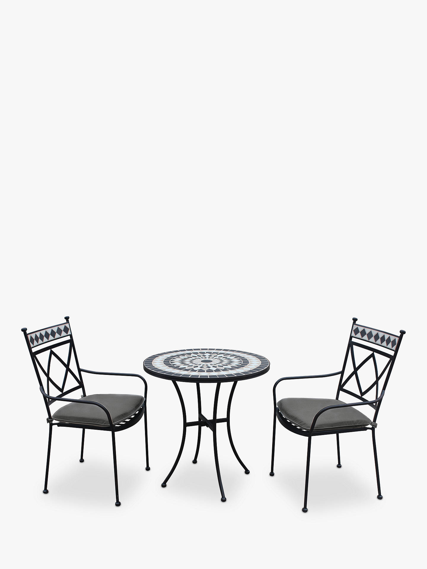 lg outdoor casablanca 2 seater garden bistro table and