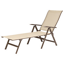 Buy KETTLER Milano Folding Sunlounger Online at johnlewis.com