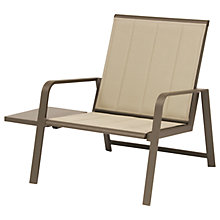 Buy KETTLER Milano Outdoor Lounge Armchair, Taupe Online at johnlewis.com