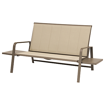 KETTLER Milano 2 Seater Outdoor Sofa With Side Table