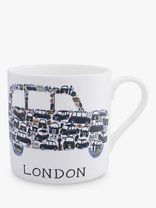 McLaggan Smith London Taxi Mug, 400ml