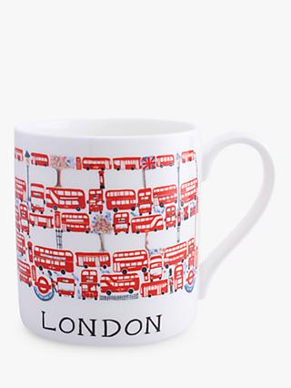 McLaggan Smith London Bus Mug, 400ml