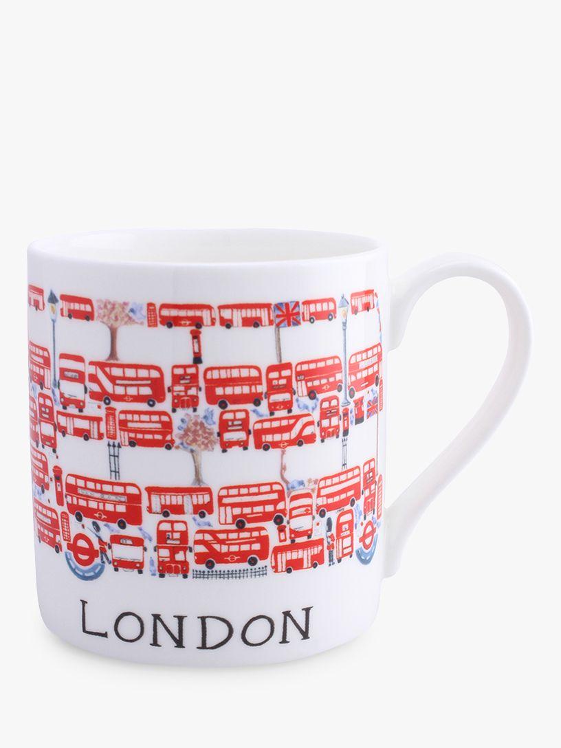 McLaggan Smith McLaggan Smith London Bus Mug, 400ml
