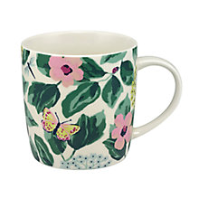 Buy Cath Kidston Mornington Leaves Audrey Mug, Multi, 350ml Online at johnlewis.com