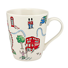Buy Cath Kidston London Scenes Stanley Mug, Multi, 400ml Online at johnlewis.com