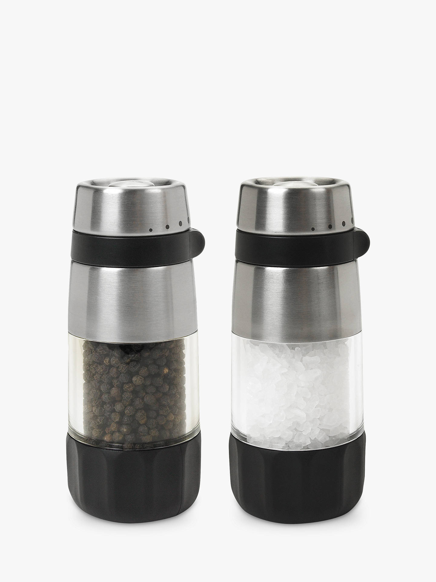 Buy OXO Good Grips Salt and Pepper Mill Grinders, Set of 2 Online at johnlewis.com