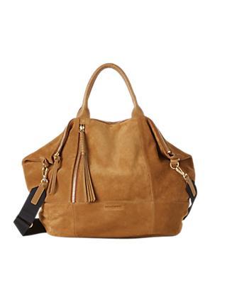 Gerard Darel Only You Leather Grab Bag Camel