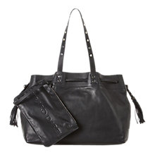 Buy Gerard Darel Le Simple 2 Bis Leather Bag, Black Online at johnlewis.com