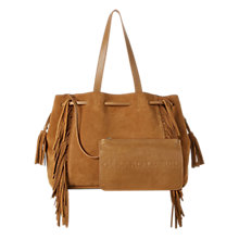 Buy Gerard Darel Simple 2 Fun Leather Shoulder Bag, Camel Online at johnlewis.com