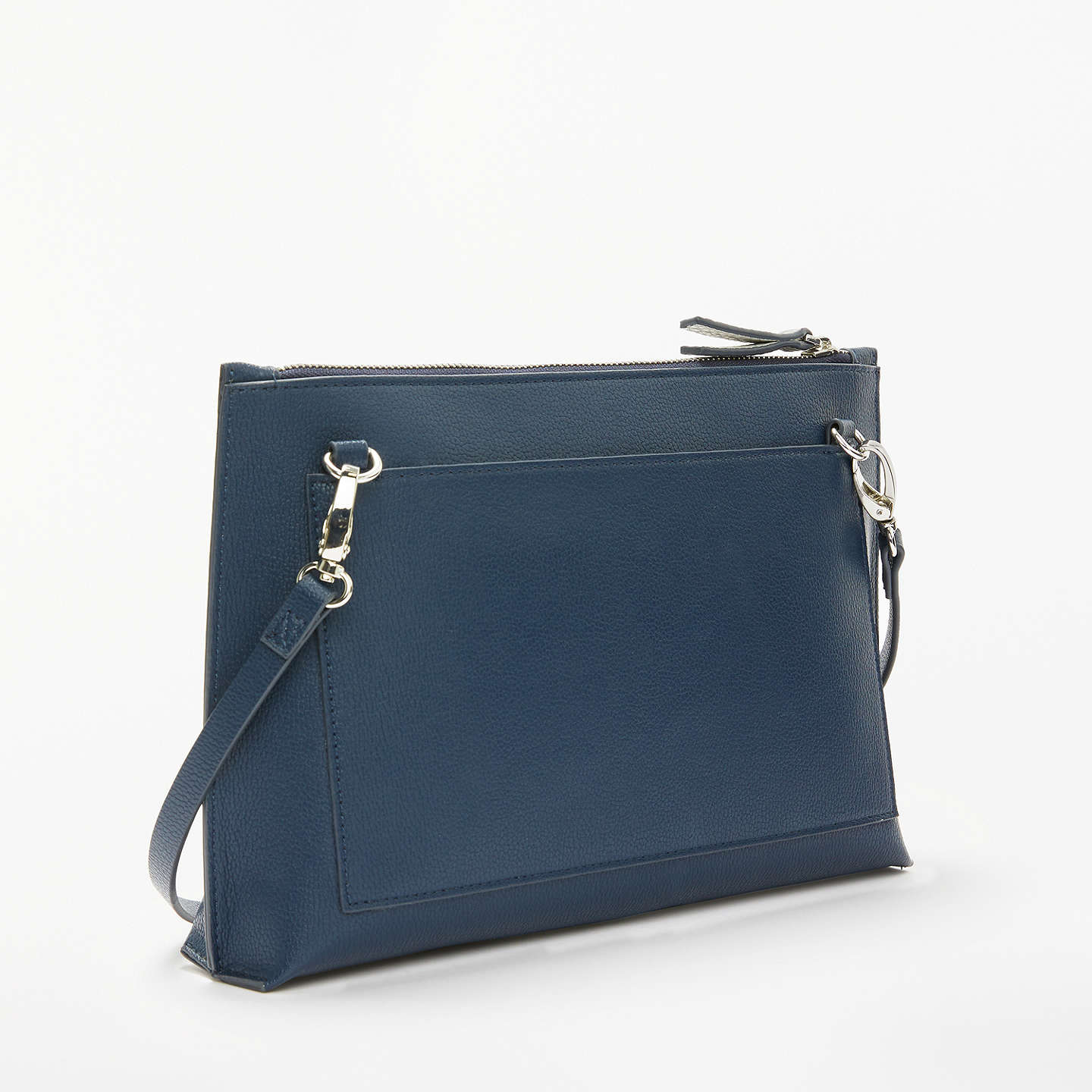 BuyKin by John Lewis Sia Clutch Bag, Navy Online at johnlewis.com