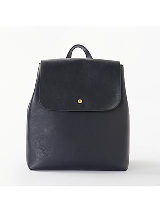 John Lewis Partners Rhea Leather Backpack