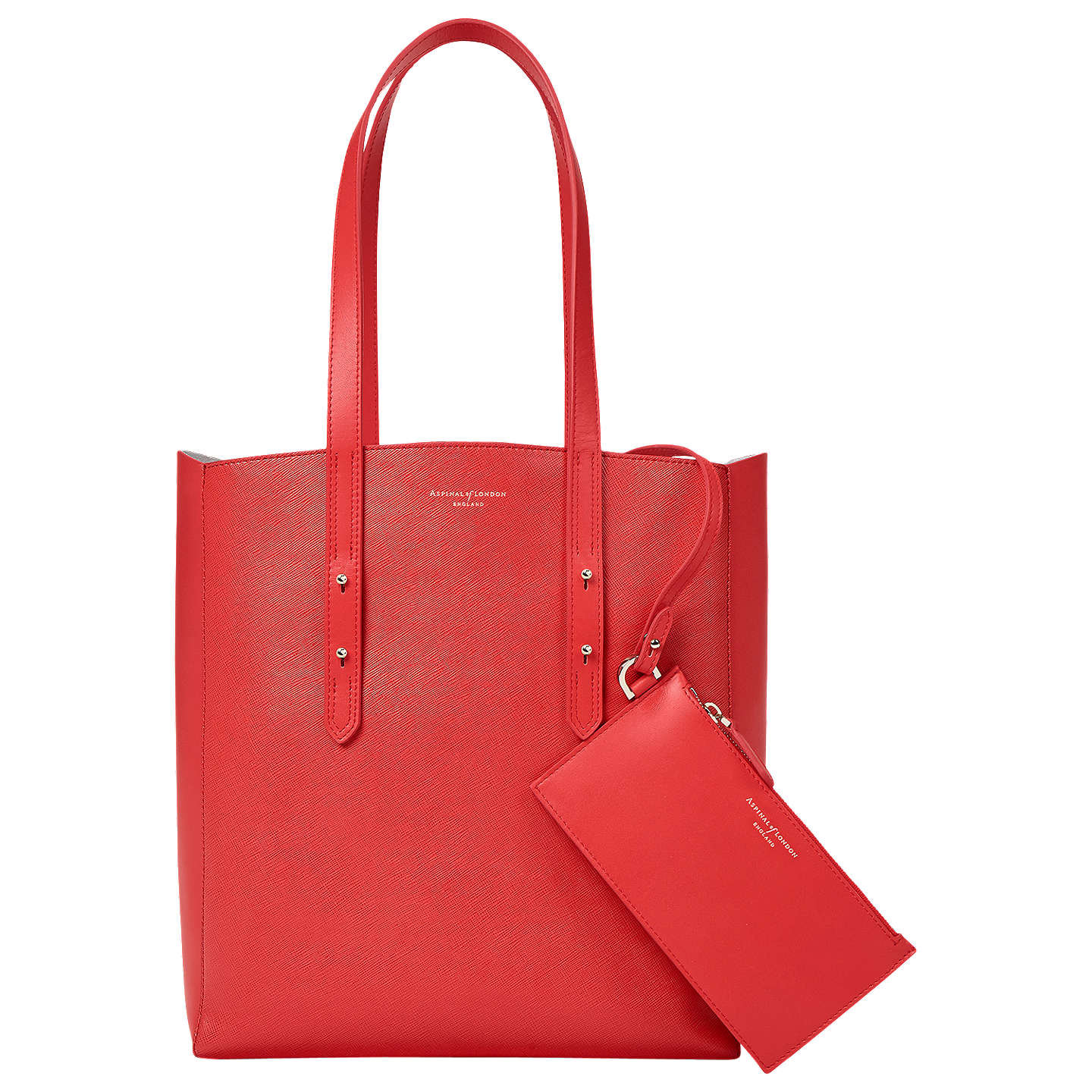 Aspinal Of London Essential Tote Bag Dahlia Online At Johnlewis