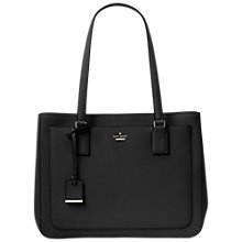 Buy kate spade new york Cameron Street Zooey Leather Shopper Bag, Black Online at johnlewis.com