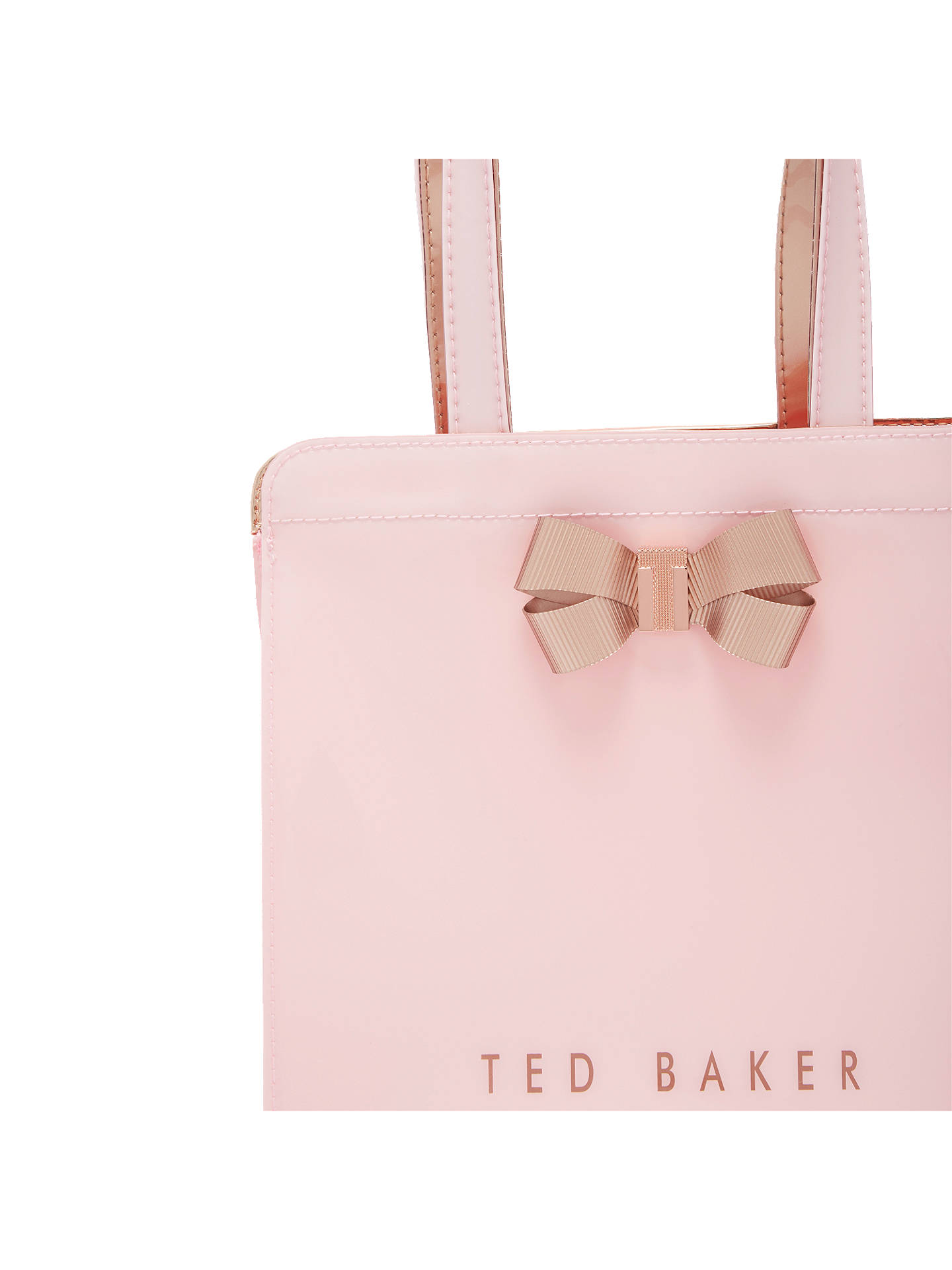 0ea1feec7889c1 Ted Baker Kriscon Bow Small Icon Shopper Bag at John Lewis   Partners