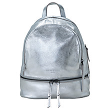 Buy Liebeskind Berlin Lotta F8 Leather Backpack, Silver Online at johnlewis.com