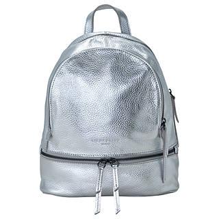 Liebeskind Berlin Lotta F8 Leather Backpack Silver