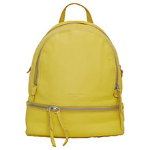 Buy Liebeskind Berlin Lotta F8 Leather Backpack, Lime Zest Online at johnlewis.com