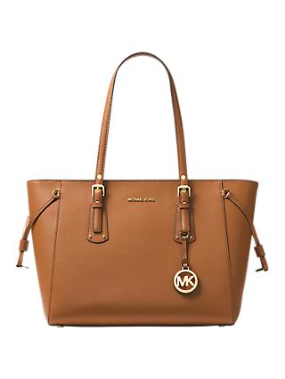 b5e88747f95989 MICHAEL Michael Kors Voyager Leather Medium Tote Bag