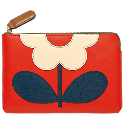 Orla Kiely Flower Stem Zip Pouch Purse