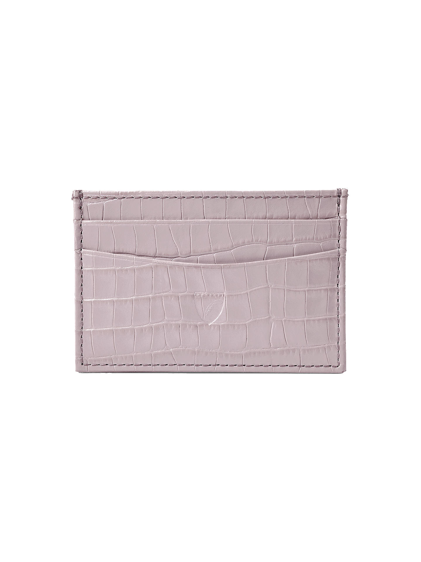 Aspinal london leather credit card wallet various colours