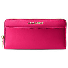 Buy MICHAEL Michael Kors Money Pieces Leather Continental Purse Online at johnlewis.com
