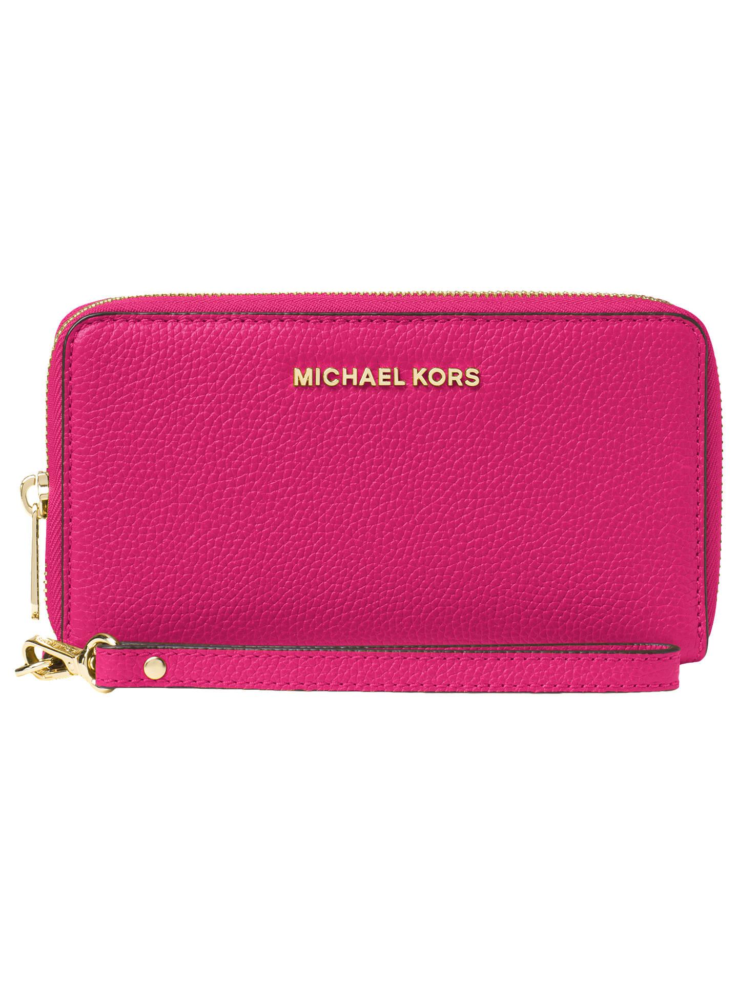69d1e3068af8 MICHAEL Michael Kors Mercer Large Leather Phone Case Purse at John ...