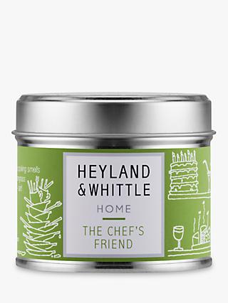Heyland & Whittle Solutions Chef's Friend Scented Candle, Green