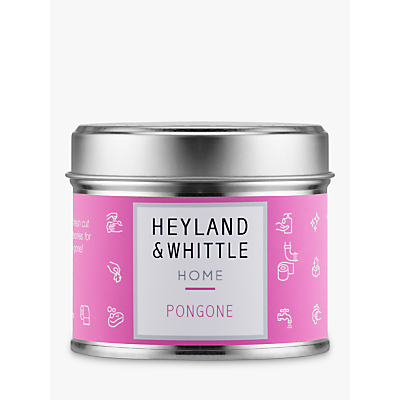 Heyland & Whittle Solutions Pongone Candle, Pink