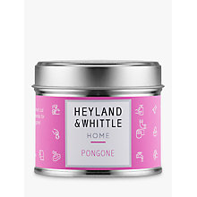 Buy Heyland & Whittle Solutions Pongone Candle, Pink Online at johnlewis.com