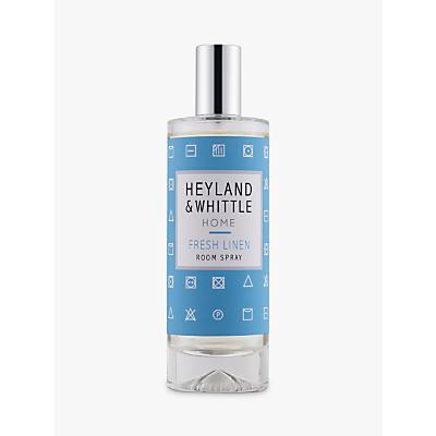 Heyland & Whittle Solutions Fresh Linen Room Spray, 100ml, Blue