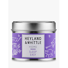 Buy Heyland & Whittle Solutions Sleep Easy Candle, Lilac Online at johnlewis.com