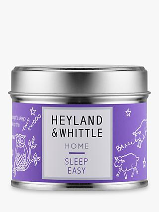 Heyland & Whittle Solutions Sleep Easy Scented Candle, Lilac