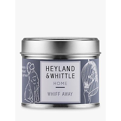 Heyland & Whittle Solutions Whiff Away Candle, Grey