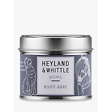 Buy Heyland & Whittle Solutions Whiff Away Candle, Grey Online at johnlewis.com